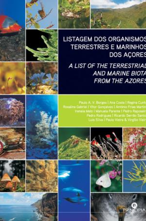 Listagem Organismos Terrestres Marinhos dos Açores - OUTLET