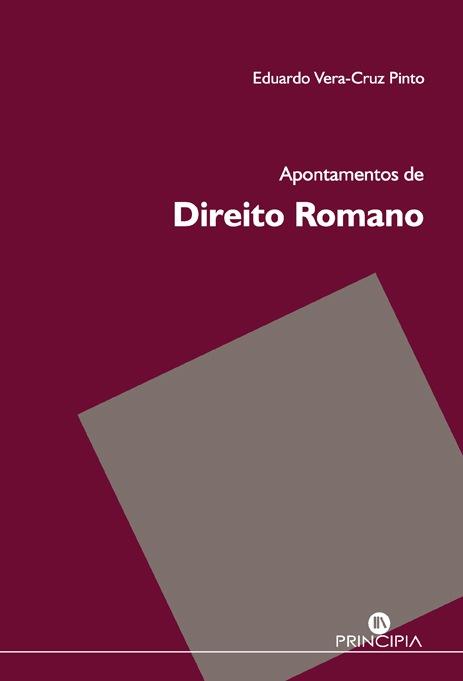 Apontamentos de Direito Romano - OUTLET