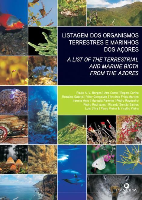 Listagem Organismos Terrestres Marinhos dos Açores